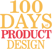 100 Days of Product Design Logo