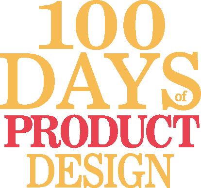 100 Days of Product Design Retina Logo